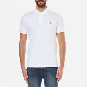 Polo Ralph Lauren Men's Short Sleeve Polo Shirt - White