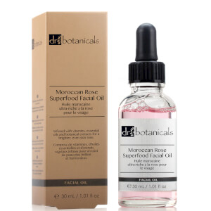 Dr Botanicals Moroccan Rose Superfood Facial Oil 30ml
