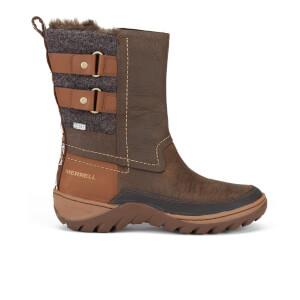 Merrell Women's Sylva Mid Buckle Waterproof Boots - Potting Soil