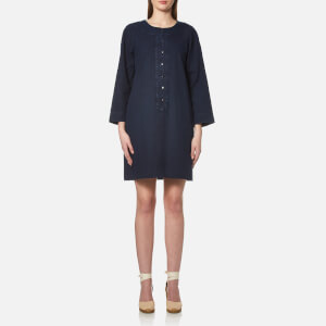 A.P.C. Women's Louxor Dress - Indigo Delave