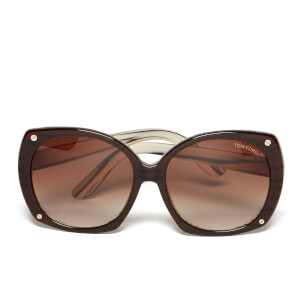 Tom Ford Women's Gabriella Sunglasses - Brown