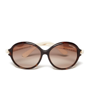 Tom Ford Women's Milena Sunglasses - Black/White