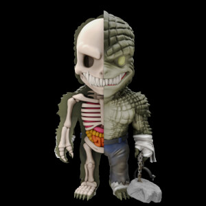 DC Comics XXRAY Figure Wave 4 Killer Croc Vinyl Figure