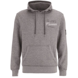 Smith & Jones Men's Aeolic Hoody - Charcoal Marl