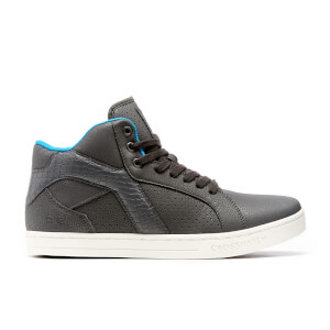 Crosshatch Men's Berkane High Top Trainers - Eiffel Tower
