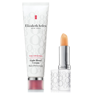 Elizabeth Arden Eight Hour Cream Skin Protectant & Lip Stick SPF 15 Set