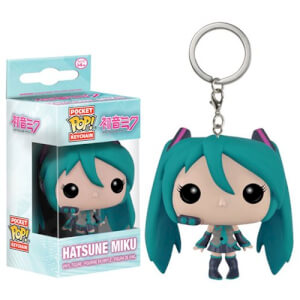 Vocaloid Hatsune Miku Pocket Pop! Keychain