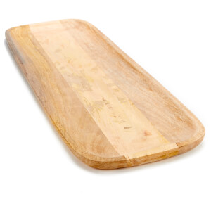 Nkuku Eta Large Mango Wood Serving Platter 60 x 22cm: Image 3