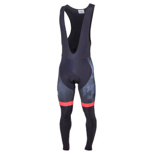 Bianchi Bolgare Bib Tights - Black/Red