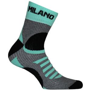 Bianchi Ornica Socks - Grey/Green