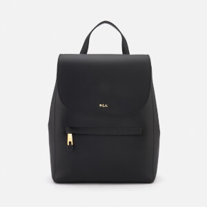 Lauren Ralph Lauren Women's Dryden Ellen Backpack - Black/Crimson