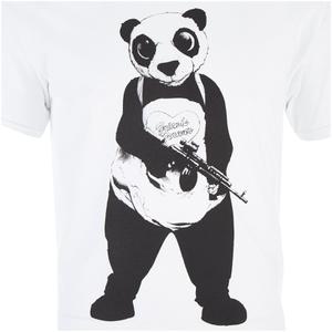 DC Comics Suicide Squad Men's Panda T-Shirt - Black: Image 4