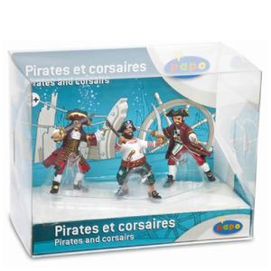 Papo Pirates and Corsairs: Display Box Pirates and Corsairs (3 Figurines)