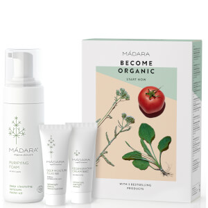 MÁDARA Become Organic Starter Set (Worth £40)