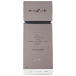 AromaWorks Men's Calming Aftershave Lotion 100ml: Image 2