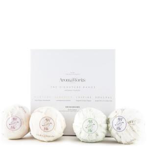 Conjunto de 4 produtos AromaBomb da AromaWorks