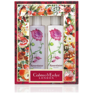 CRABTREE & EVELYN ROSEWATER BODY CARE DUO