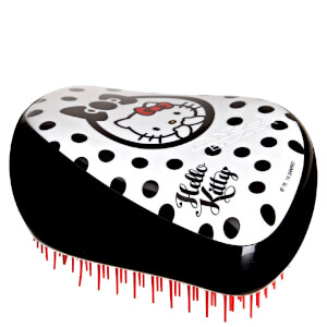 Tangle Teezer Compact Styler Hello Kitty Hair Brush - Sort/hvit