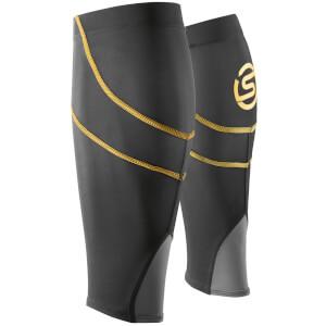 Skins Essentials Unisex Calf Tights MX - Black/Yellow