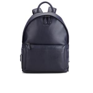Ted Baker Men's Leather Backpack - Navy