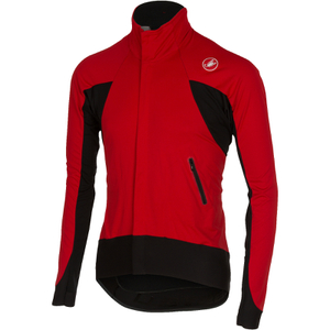 Castelli Alpha Long Sleeve Jersey - Red/Black