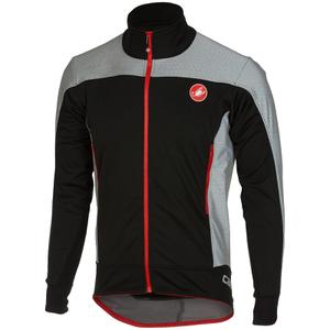 Castelli Mortirolo Reflex Jacket - Black