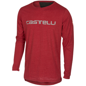 Castelli CX Long Sleeve Top - Red