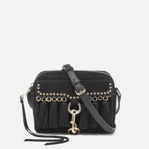 Rebecca Minkoff Women's Multi Tassel Camera Bag - Black