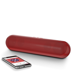 Akai XL Bluetooth Capsule Speaker - Red