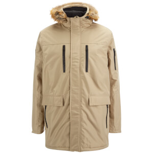 Good For Nothing Men's Alaska Hooded Parka - Stone