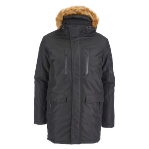 Good For Nothing Men's Alaska Hooded Parka - Black