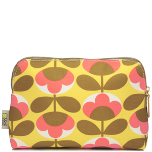 Orla Kiely Oval Flower Cosmetic Bag