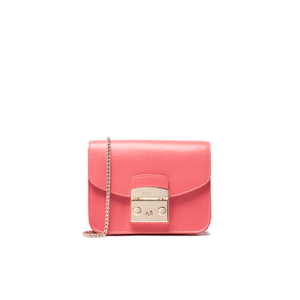 Furla Women's Metropolis Mini Cross Body Bag - Corallo