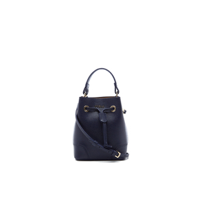 Furla Women's Stacy Mini Drawstring Bucket Bag - Navy