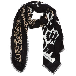 Marc Jacobs Women's Dotted Leopard Stole Scarf - Bone