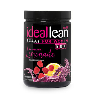 IdealLean BCAAs - Raspberry Lemonade - 30 Servings