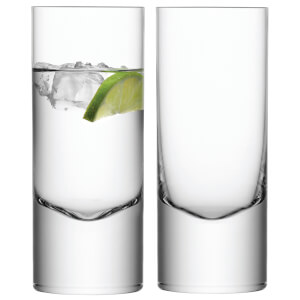 LSA Boris Highball Glasses - 360ml - Set of 2