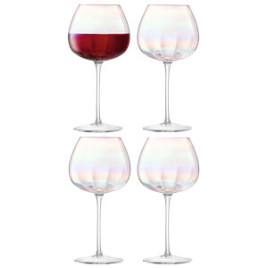 LSA Pearl Red Wine Glasses (Set of 4)