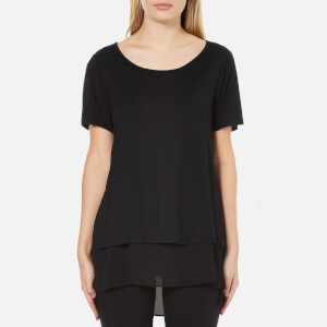 Polo Ralph Lauren Women's Scoop Neck Double Layer Top - Polo Black