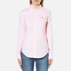 Polo Ralph Lauren Women's Kendal Oxford Shirt - Light Rose