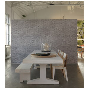 NLXL Materials Wallpaper by Piet Hein Eek - Silver Grey Brick