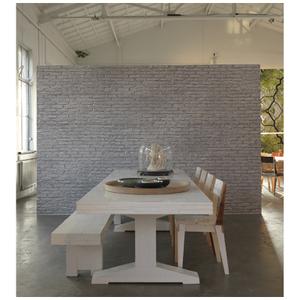 NLXL Materials Wallpaper by Piet Hein Eek - Silver Grey Brick
