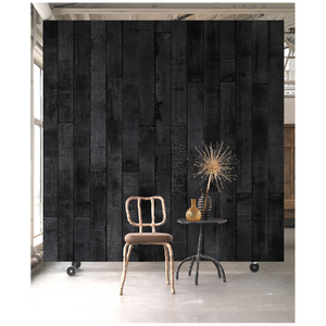 NLXL Materials Wallpaper by Maarten Baas - Burnt Wood Brand