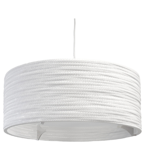 Graypants Drum Pendant - 24 Inch - White