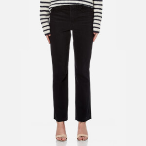 Helmut Lang Women's High Rise Crop Jeans - Black
