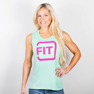 IdealFit Mint Muscle Tank