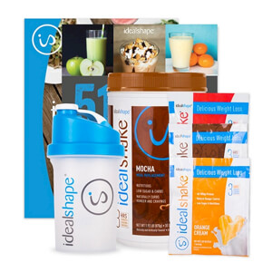 IdealShake, 3 IdealShake Meal Packs & FREE Shaker Bottle