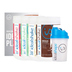 4 Meal Replacement Shake Tubs + Ebook & Shaker
