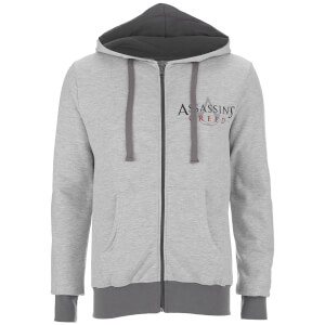 Assassin's Creed Mannen Logo Zip Trui - Lichtgrijs