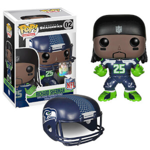 Figura Pop! Vinyl Richard Sherman Ronda 1 - NFL